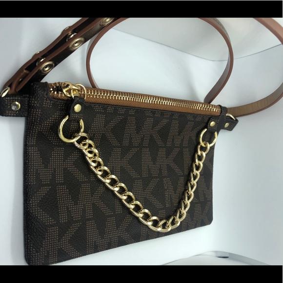 Michael Kors Handbags - Michael Kors Belt pouch - never worn!